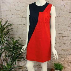 Kate Spade Saturday Color Block Sleeveless Dress